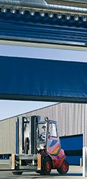 Brama szybkobieżna przeznaczona do użytku wewnętrznego