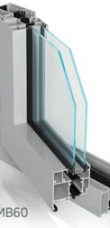 okno aluminiowe mb60