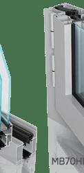 okno aluminiowe mb70