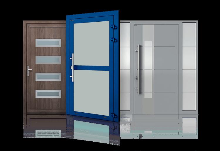drzwi aluminiowe dla przemyslu