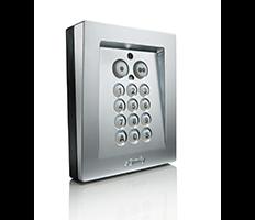 Elektrozamek w drzwiach bramy z bezprzewodową klawiaturą kodową